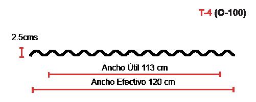 estructura polylit T4 o100