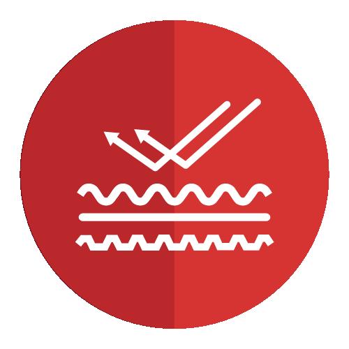 Icono sobre propiedades de los productos de Panel y Acanalados S.A. de C.V.