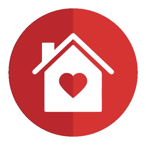 Icono de caracteristicas para casa
