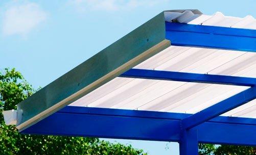 lamina acrilica acrylit para techo