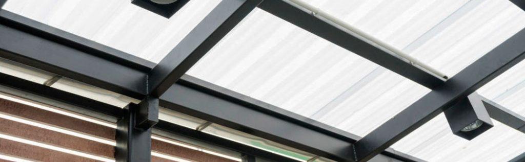 Lámina acrilica poliacryl para techo