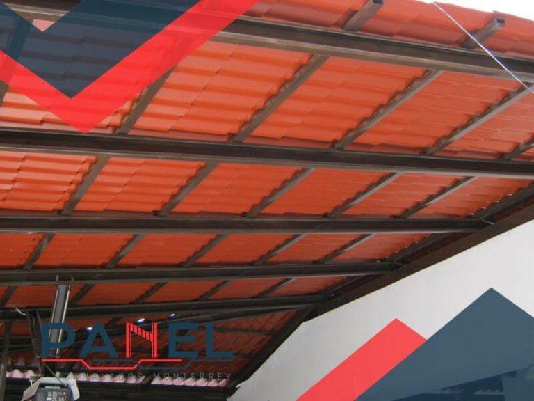 casa de fachada con teja plastiteja