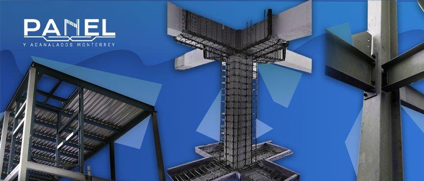 Tipos de columnas en construcción
