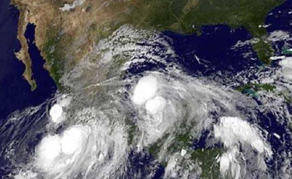 huracanes mexico en oceano atlantico y pacifico