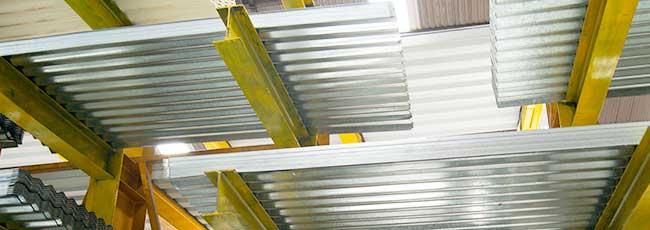 Laminas en stock de acero galvanizado