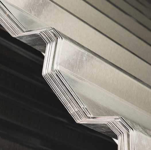 lamina galvanizada perfil r101