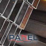 Perfil PTR de acero distribuido por Panel y Acanalados S.A. de C.V.